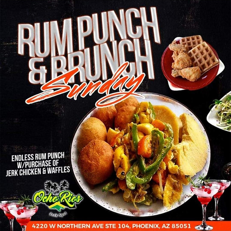 Rum Punch & Brunch Father's Day Edition
