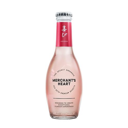 Merchant Hearts Hibiscus Tonic water