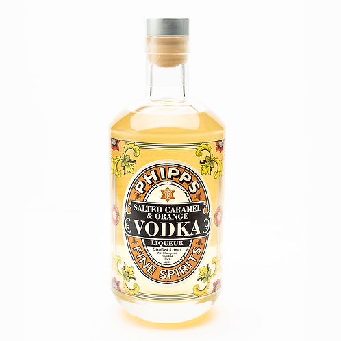 Phipps Salted Caramel & Orange Vodka Liqueur