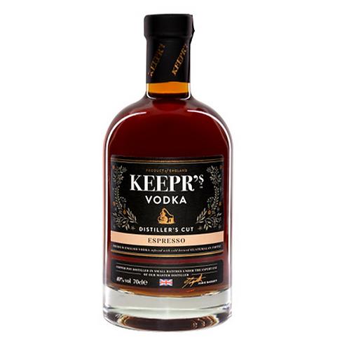 Keepr's British Espresso Vodka Distiller's Cut