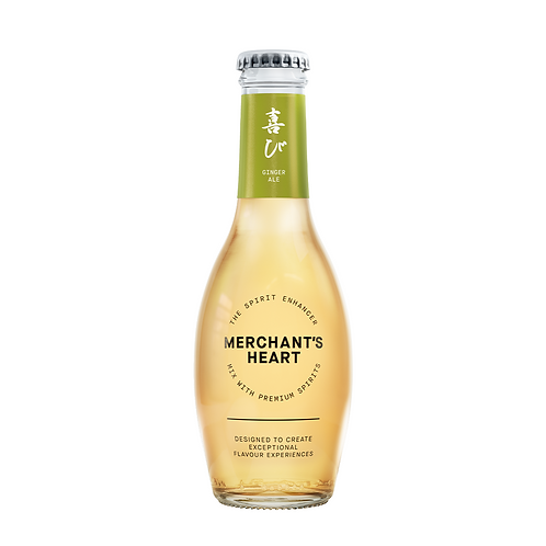 Merchant Hearts Ginger Ale Tonic water