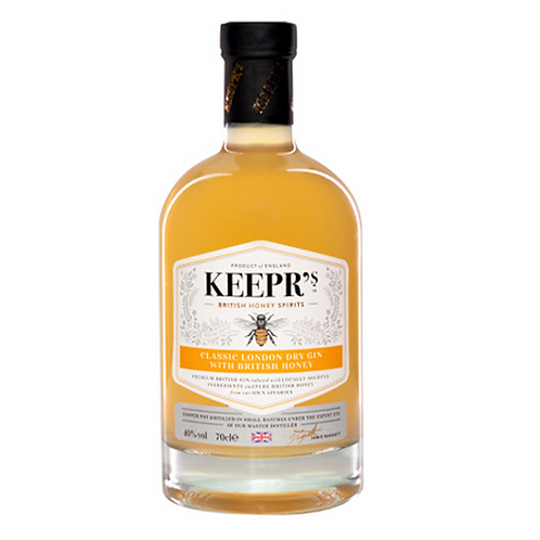 Keepr's Classic London Dry Gin with British Honey
