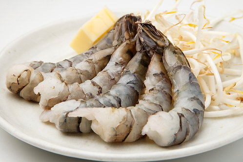 Black tiger prawns HOSO 16-20 600g