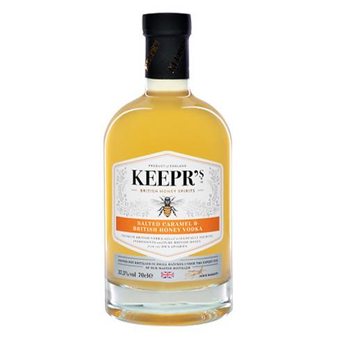 Keepr's Salted Caramel & British Honey Vodka