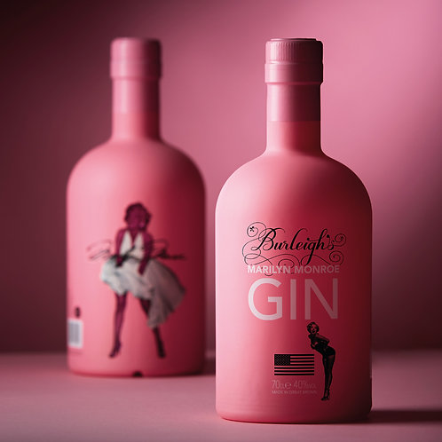 Burleighs Marilyn Monroe Pink Gin