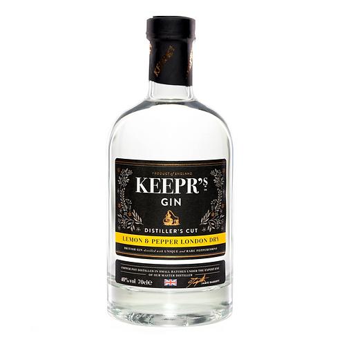 Keepr's Lemon & Pepper London Dry Gin