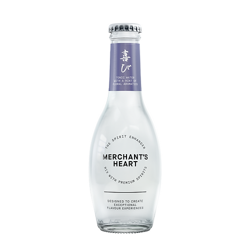 Merchant Hearts Floral Aromatic Tonic water