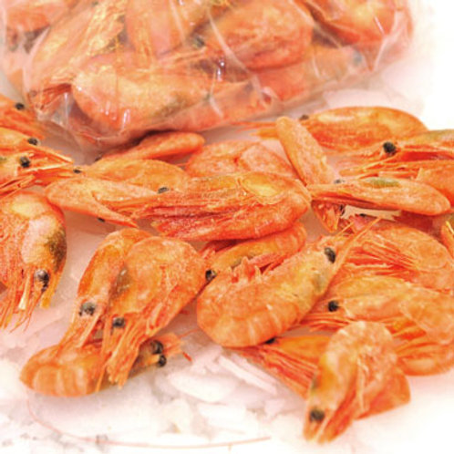 Cooked shell on prawns 90-120g (per kg)