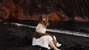 when she left the salt-less sea, portrait session