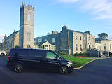 Mercedes Viano outside Glenlo Abbey