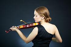 Violinista femminile