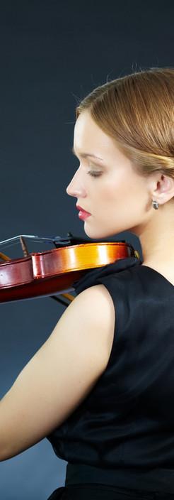 Violinista feminino