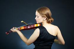 Violinista Mujer