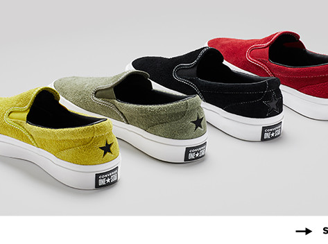 SP19 Suede Deck Star Slip