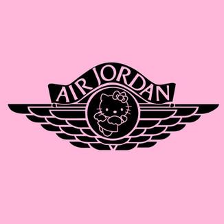 Air Jordan X Hello Kitty Angel