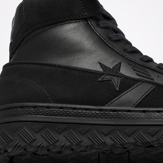 Converse Holiday 2020 Women's Pro Leather - Leather & Suede with Reflective Piping Detail.