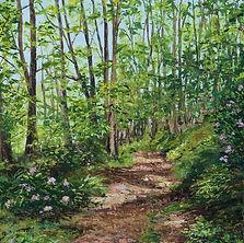 Woodland Walk Giclee print Katy Stoneman