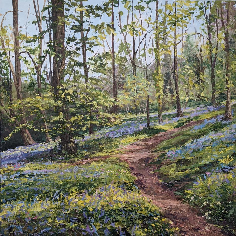 Bluebells - The Forgotten Garden - Lewtrenchard