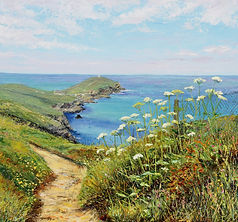 Come Walk with Me Cornish, Cornwall seascape Katy Stoneman