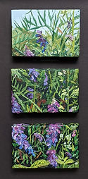 Hedgerow miniature painting