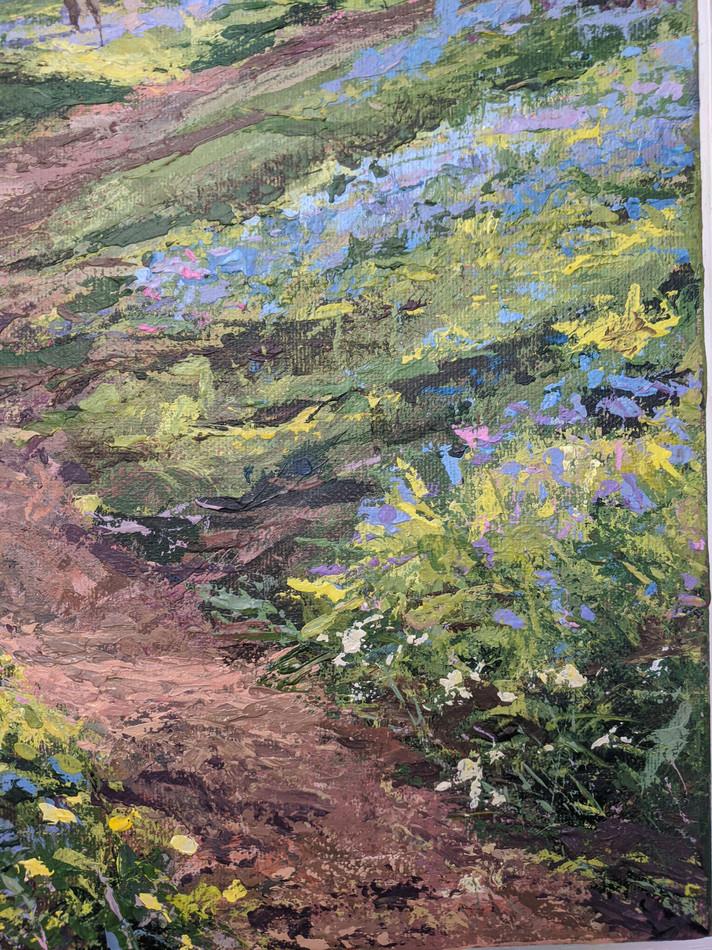 Bluebells - detail