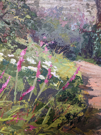 A Warm Day at Cotehele - detail