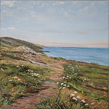 Moon Carrot, Cornwall, Cornish seascape katy Stoneman