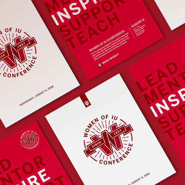 Women of IU Conference print materials