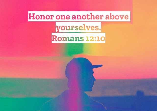 Honor one another