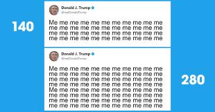 280 vs 140 character tweets