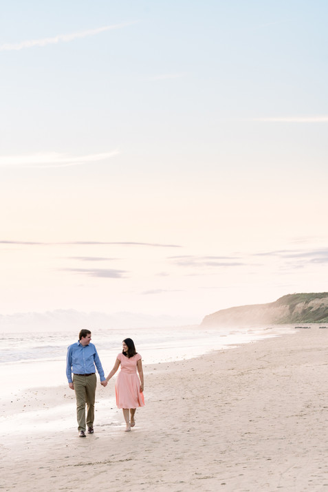 Crystal Cove Engagement Photos