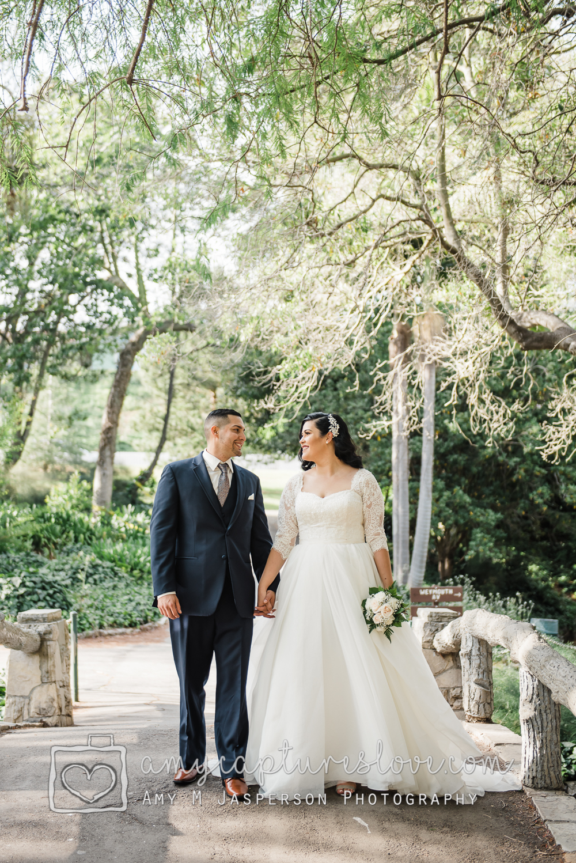 Bride and Groom Portrait San Pedro
