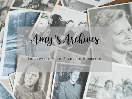 Introducing Amy's Archives