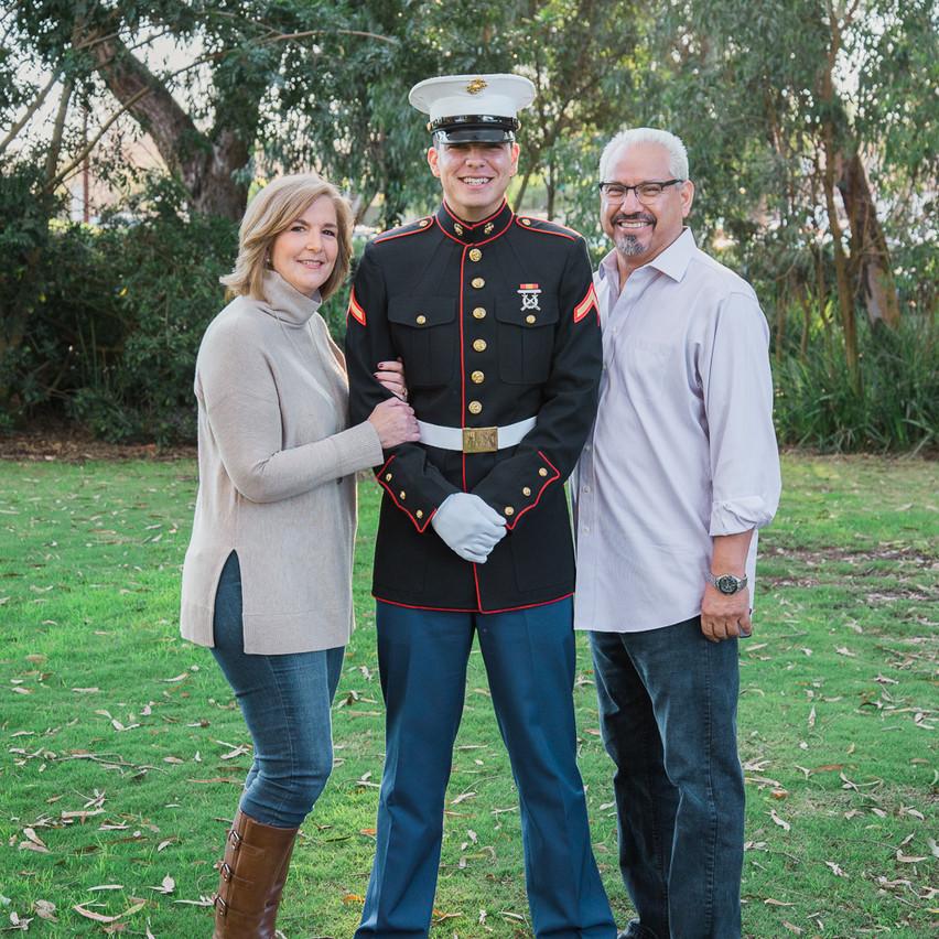Family Portrait, Huntington Beach Central Park.
