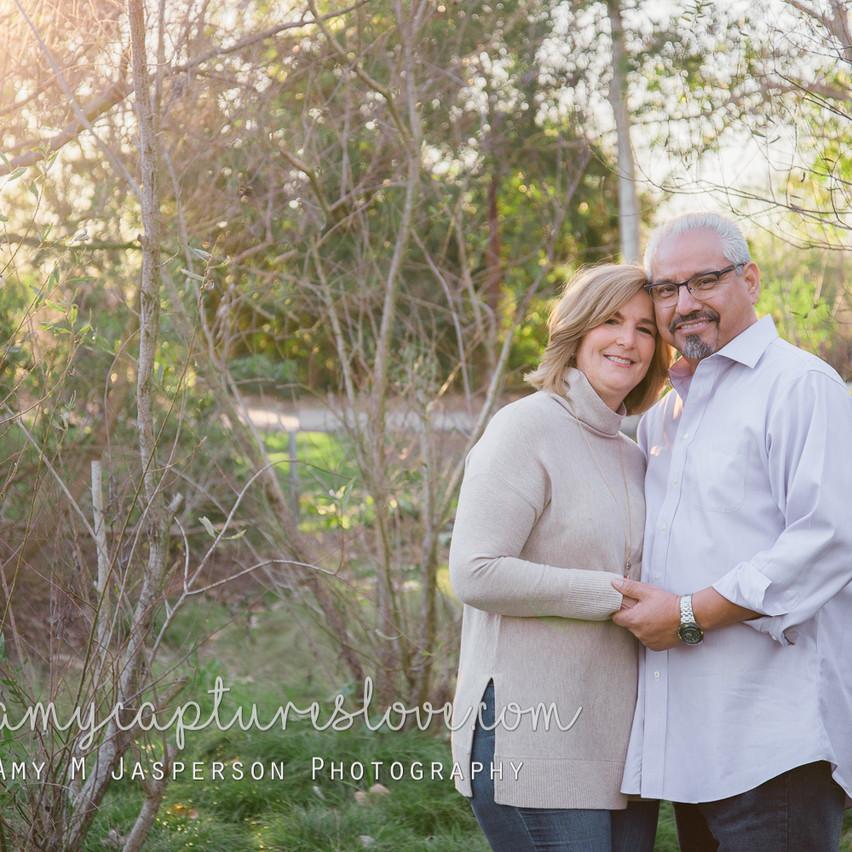 Sweet couple, Huntington Beach Central Park.
