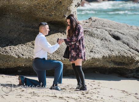 Laguna Beach, Christmas Day Proposal