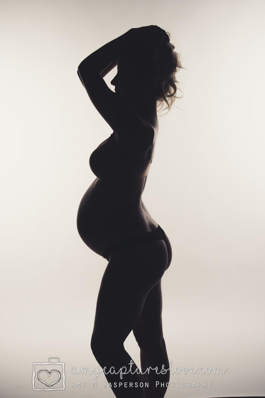 Studio Maternity Portraiture, Orange County