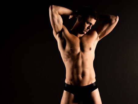 Studio Model and Fitness Photoshoot