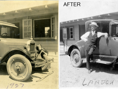 Photo Restoration, and the importance of it.