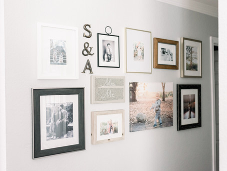 How to make a collage wall
