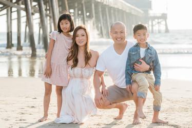Newport Beach Pier Family Photos