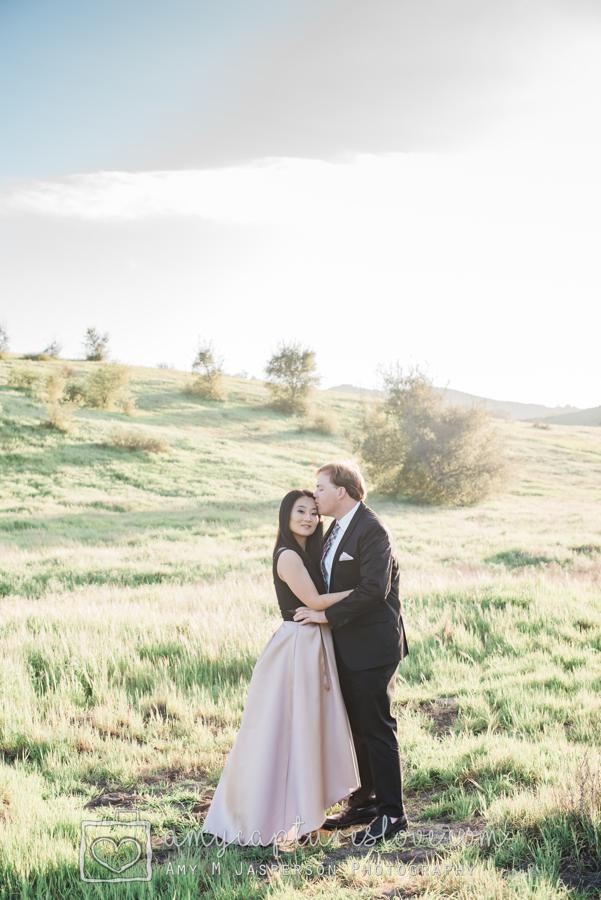 Engagement Photos Thomas Riley Park, Coto De Caza, Orange County, Photographer, Engagement, Formal Attire, Orange County Wedding Photographer, Amy Captures Love