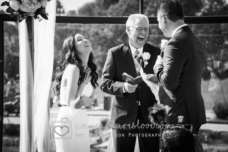 Wedding moment Huntington Beach