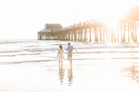Newport Beach Pier Family Session