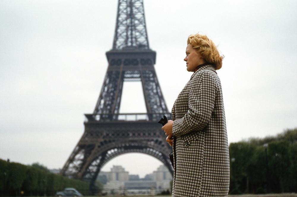 My Oma, Eiffel Tower, 1957