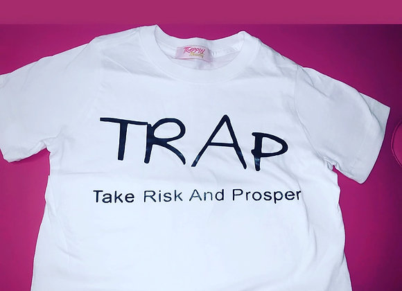 TRAP TEE ( All Sizes & Colors for Kids & Adults )