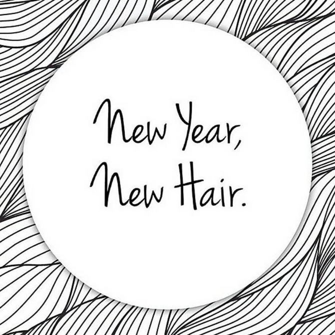 Hair and the New Year.