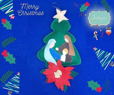 Holy Family Tree Ornament