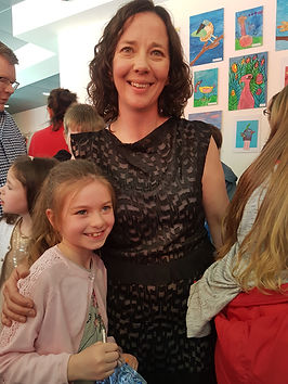 Cáit winner of Leah Kelly award in 2020