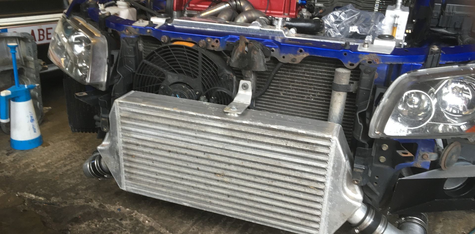 Mitsubishi Evo Intercooler Car.JPG